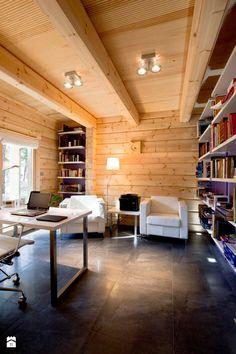 Gabinet styl Skandynawski - zdjęcie od TiM Grey Projektowanie Wnętrz - Gabinet - Styl Skandynawski - TiM Grey Projektowanie Wnętrz