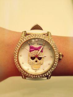 Watch, skull, fashion