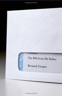 The Bill from My Father cover design by Paul Sahre (Simon and Schuster)