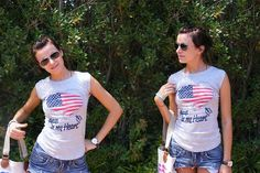 from Milan - shorts KOCCA - American Love (by Olga Maslova) http://lookbook.nu/look/2169873-American-Love