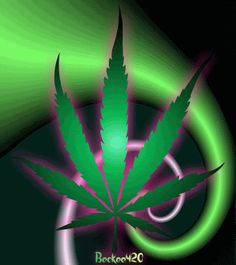Weed Marijuana Glitter Graphics | All Graphics » glittery weed leaf
