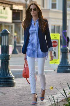 blue + white :: spring style