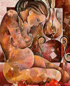 Light is Life - © 2009 Ute Hadam -  Painting Online Artworks