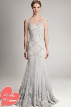 Dresses, Ivory Fall Wedding Dresses Ideas With Sheath Cap Embrodiered Mermaid Sleeve Ruffle Tulle Lace Skirt Wedding Gown: Fall and Winter wedding dresses Collectionoll 2012-2013 by Hamda Al Fahim find more women fashion on misspool.com