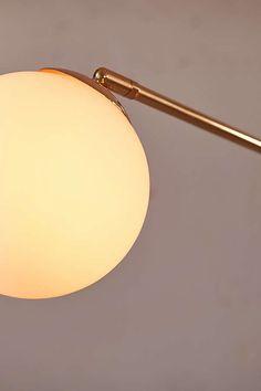 Slide View: 4: Globe Floor Lamp
