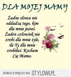 Dzień matki Wedding Gifts For Parents, Gifts For Mom, Diy And Crafts, Crafts For Kids, Special Quotes, Parent Gifts, Birthday Greetings, Self Improvement, Motto