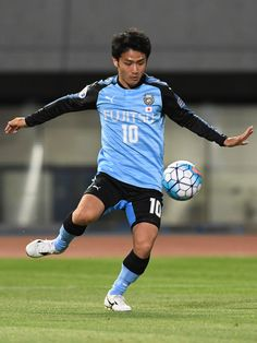 Ryota Oshima of Kawasaki Frontale in action during the AFC Champions League Group G match between Kawasaki Frontale and Eastern SC at Kawasaki Todoroki Stadium on May 9, 2017 in Kawasaki, Japan.