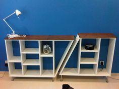 Ikea hack : détourner et customiser une bibliothèque Billy