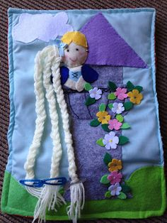 Sew Little Time: Quiet Book 7 - The Princess and the Dog