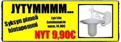 Seinävalaisin - 9,90€