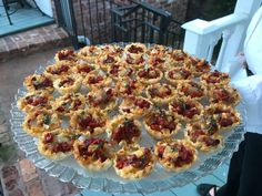 Brie and Sun-Dried Tomato Canapés - Catering by Debbi Covington - Beaufort, SC