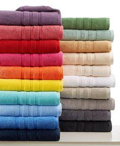 Ralph Lauren Palmer Bath Towel Collection, 100% Plush Cotton - Bath Towels - Bed & Bath - Macy's