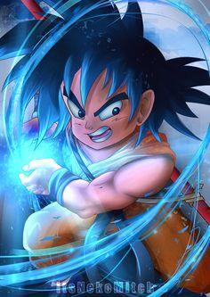 Kid Goku by ItsNekoMitch on DeviantArt