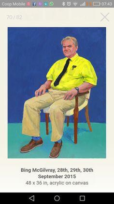 David Hockney 82 ritratti e una natura morta