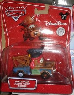 Disney Pixar Cars movie Disney Parks Exclusive Pirate Mater diecast RARE - http://hobbies-toys.goshoppins.com/tv-movie-character-toys/disney-pixar-cars-movie-disney-parks-exclusive-pirate-mater-diecast-rare/