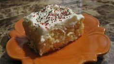 Weight Watcher Sunshine Cake (2pp) THIS IS DELICIOUS!!!