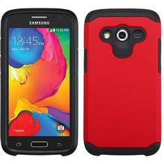 MYBAT Neo Astronoot Protector Samsung Galaxy Avant Case - Red/Black