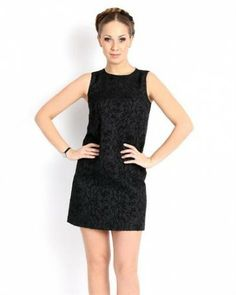 Red Valentino Embossed Trapeze Dress Europe - Dresses - Apparel at Viomart.com