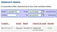 I am getting paid daily at ACX and here is proof of my latest withdrawal.  This is not a scam and I love making money online with Ad Click Xpress. I WORK FROM HOME less than 10 minutes and I manage to cover my LOW SALARY INCOME.  If you are a PASSIVE INCOME SEEKER,  then AdClickXpress (Ad Click Xpress) is the best ONLINE OPPORTUNITY for you.  No Scam Here paying daily. http://www.adclickxpress.is/?r=bamcxky9c8&p=mx