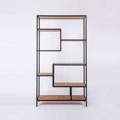 The booklshelf Kaskada undoubtedly attracts attention with its original and interesting form. It is an excellent alternative to the typical solutions available on the market. Shelves of different sizes, located at different heights, give the project uniqueness. The cascade is a