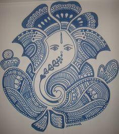 Ganesha Painting Sketches | ganesh.jpg