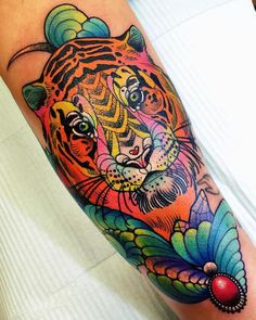 Katie Shocrylas' Colorful Tattoos Channel Lisa Frank