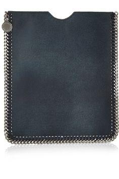 Stella McCartney Falabella faux leather iPad sleeve