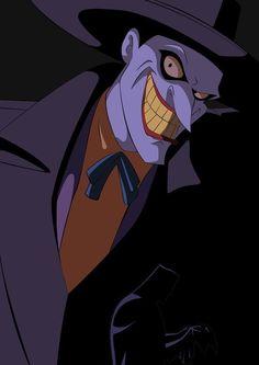 Batman - The Animated Series - The Mask of Phantasm Enjoy, Batman fans! Made with Illustrator & Photoshop Batman - The Animated Series - Joker Joker Dc, Joker And Harley Quinn, Joker Arkham, Arte Dc Comics, Bd Comics, Comic Art, Comic Books, Batman The Animated Series, Joaquin Phoenix