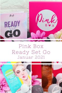 Pink Box Ready Set Go - Januar 2021 [Unboxing]