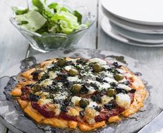 Fay Ripley's Salmon Pizza