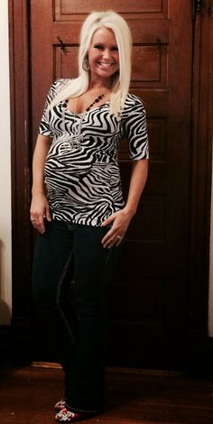 36 weeks pregnant, thirty six, third trimester, fit, healthy, workout, Beachbody, weights, cardio, winter baby, tips, motivation,belly, bump, inspiration, working out, shakeology, photos, images, progression, progress, mommy, to, be, dressing, the, fashion, clothes, cute, zebra stripes