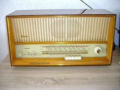 Tube Radio Weimar 5140 A Star Radio SONNEBERG plays