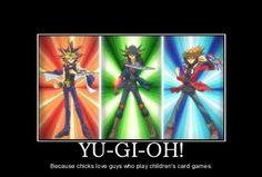 As long as it's Yugi/Yami playing them ^_^