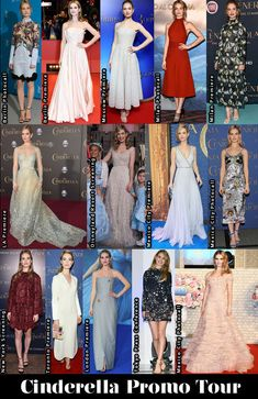 Which Was Your Favourite Lily James 'Cinderella' Promo Tour Look?