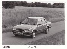 Ford Orion GL (UK, 1985)