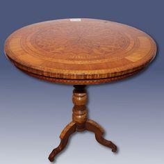 tavolino tondo antico Antiquariato su Anticoantico