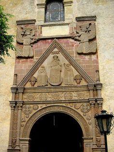 Church Entrance, Tepoztlan, Mexico