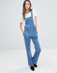 Image 4 of Noisy May Retro Dungarees