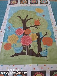 Frolicing Baby Quilt - Tutorial