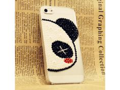 Lovely Panda Lovers iPhone 5 case (Left + Right)