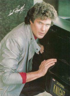 David Hasselhoff from the Knight Rider