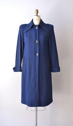 vintage 1940s Dunbarton wool coat    #1940s  #vintage