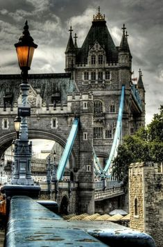 Amazing shot of the Tower Bridge, #London, #England by nadine