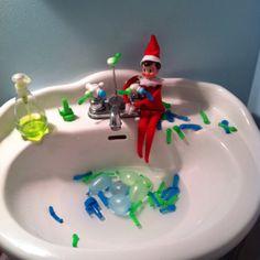 Elf on a shelf.