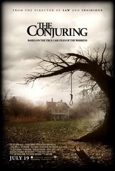 The Conjuring  This movie isnt all that scary i not even scary too me but its a good movie-  -puppybunny333(Kaitlin C.)