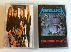 Lot-of-2-Metallica-Cassettes-Creeping-Death-The-5-98-EP