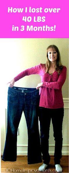 Weight loss - Over 40 lbs in 3 months & helping my Rheumatoid arthritis!