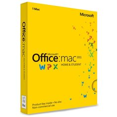 Microsoft Office for Mac Home and Student 2011 - Apple Store (U.S.)