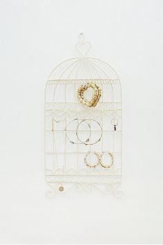 Birdcage Jewellery Holder