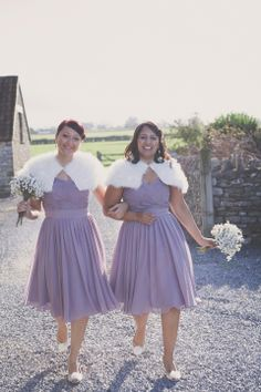An Elegant, Backless, Suzanne Neville Gown For A Handmade Lavender Inspired Barn Wedding